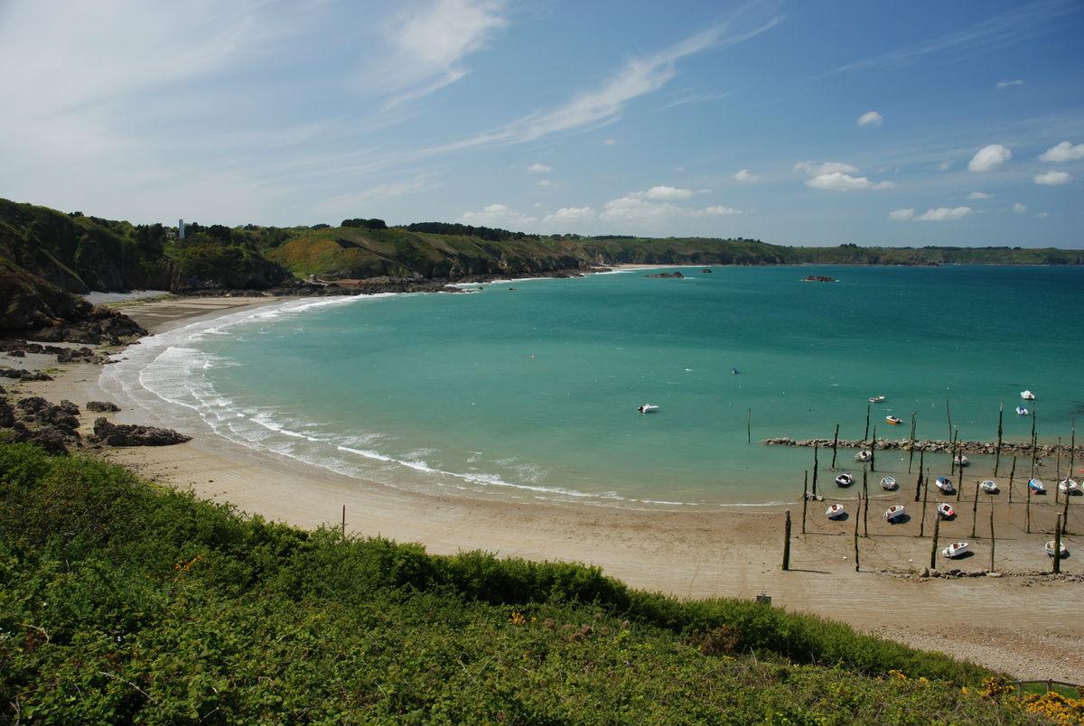 les plus hautes falaises de Bretagne : Plouha